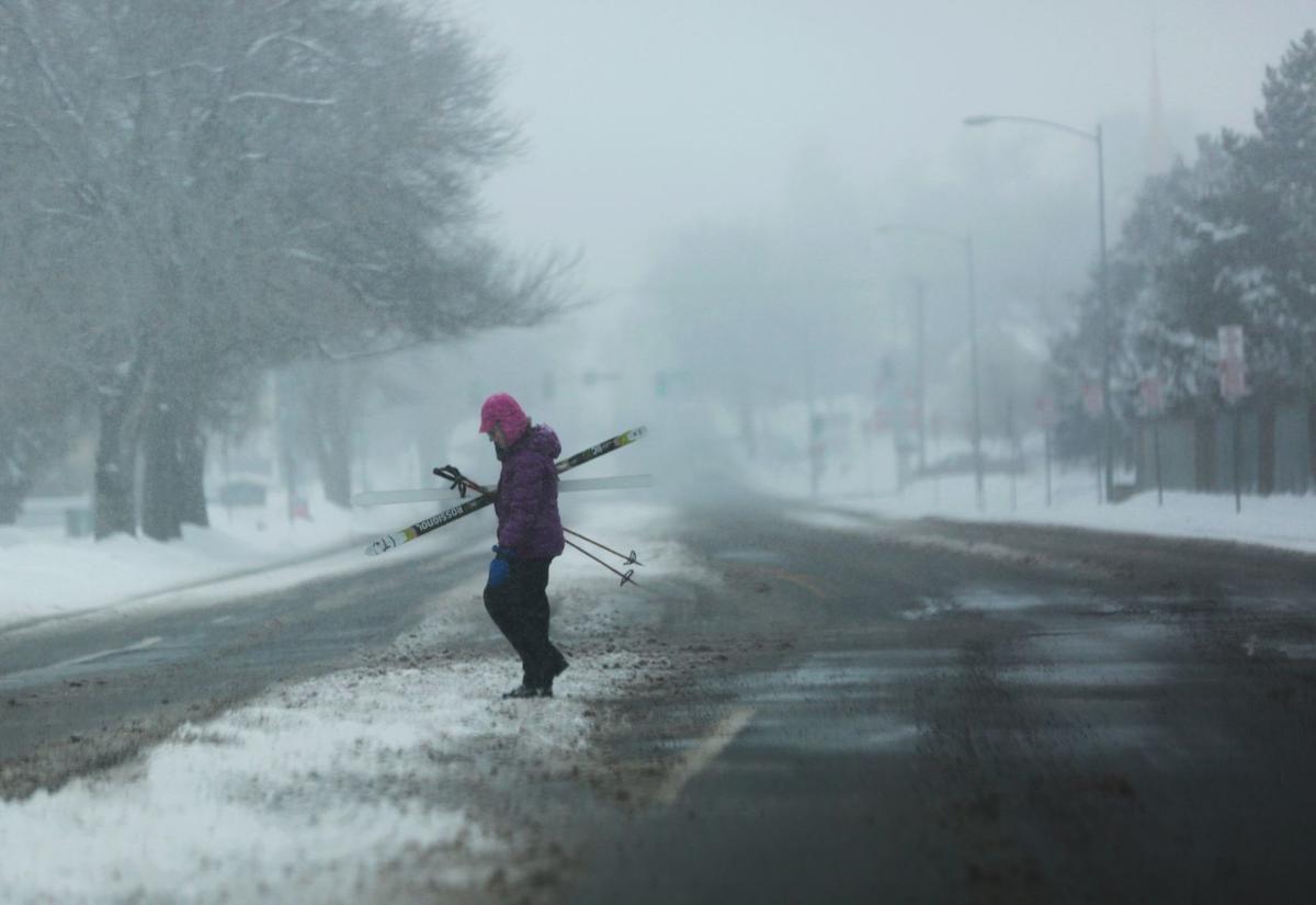 Winter storm takes aim...