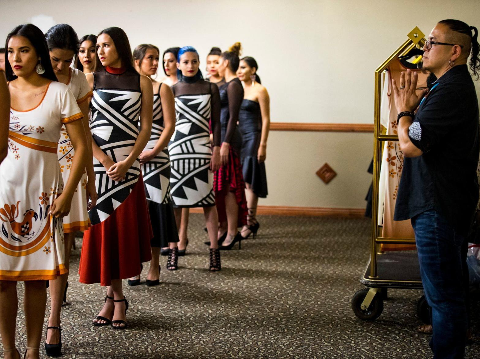 Native American Fashion Show Highlights Traditional Designs Business Billingsgazette Com