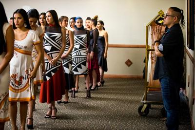 Fashion Show at the Native American Development Corporation's Conference