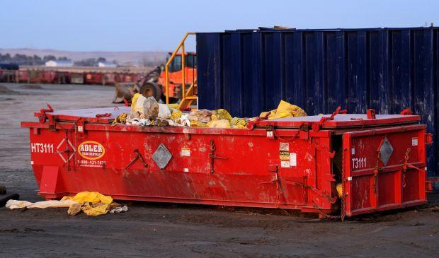 Hazardous materials suits spill