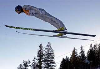 OLYMPICS SKI JUMP
