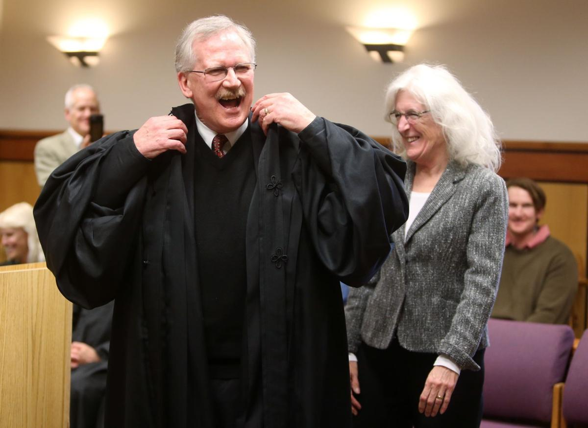 New District Court Judge Don Harris