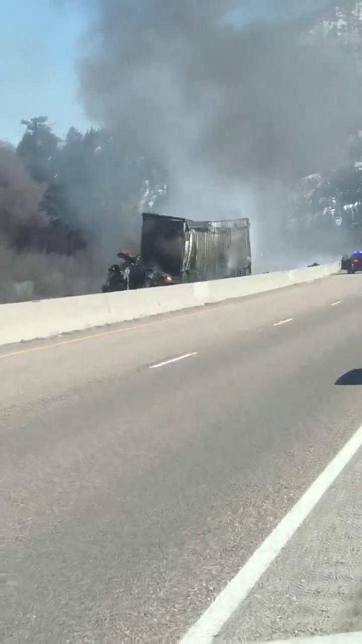 Video from scene of Wednesday's crash on I-90 | State & Regional