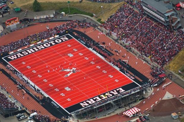 Roos Field, Eastern Washington