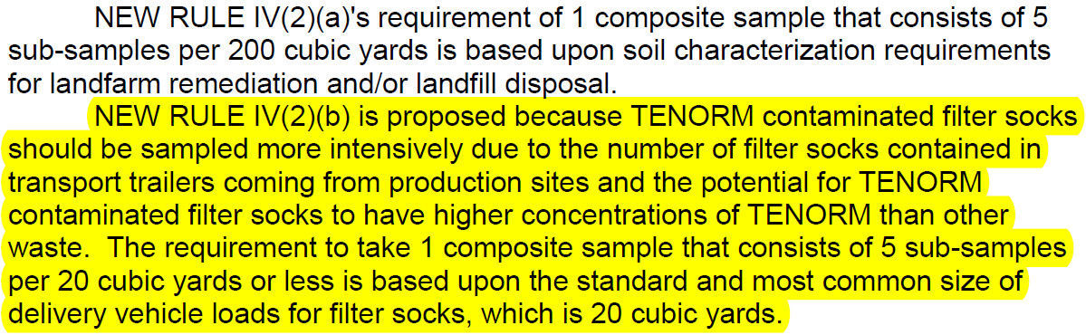 Proposed TENORM rules