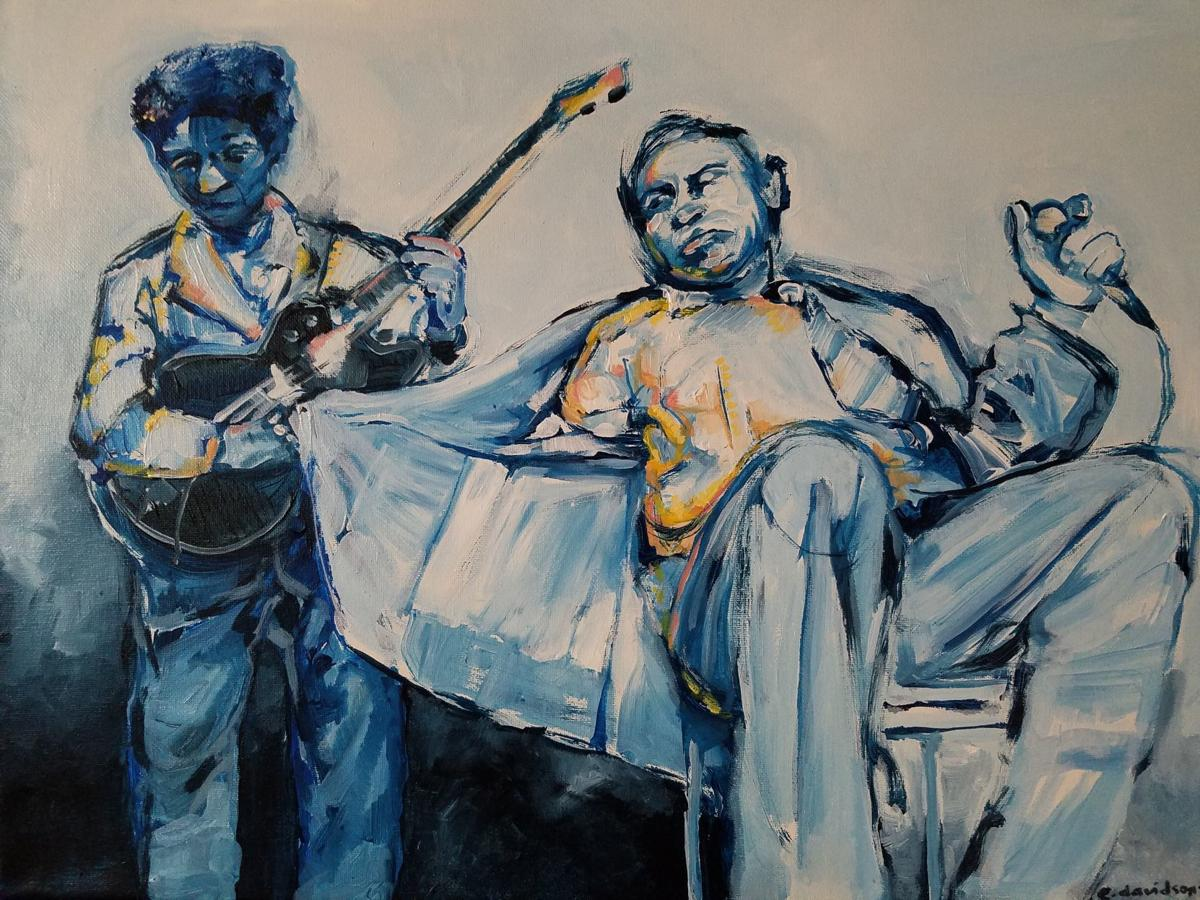 "Emily Davidson's ""Howlin' Wolf & Hubert Sumlin"""