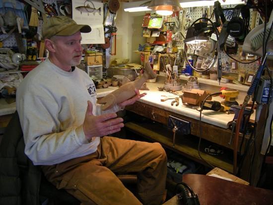 Artist finds his fish niche