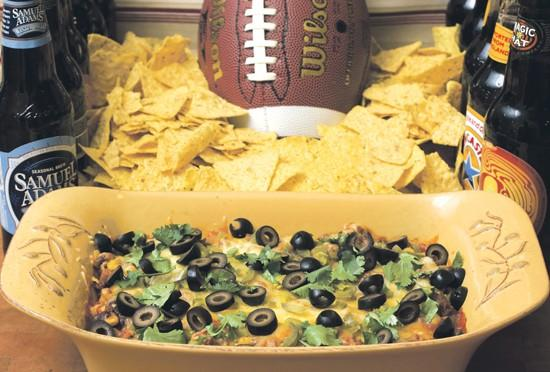 Fiesta dip spices up fans' Super Bowl snacking