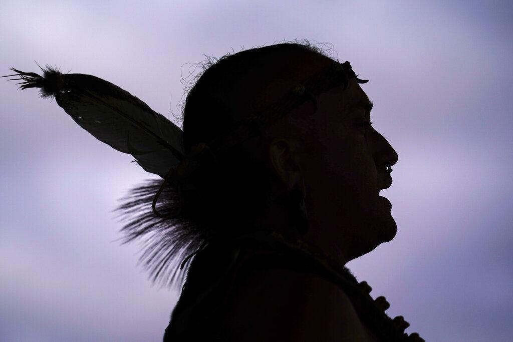 APTOPIX Pennsylvania Indigenous Peoples Day