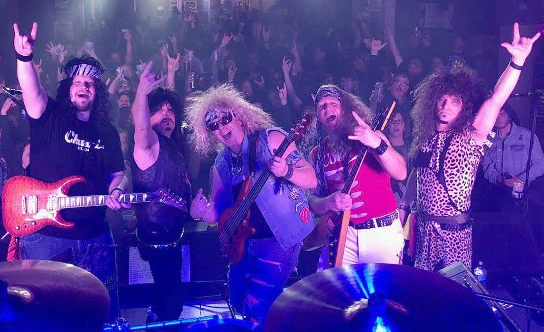 Kicking Karma's Monsters of Rock Tribute