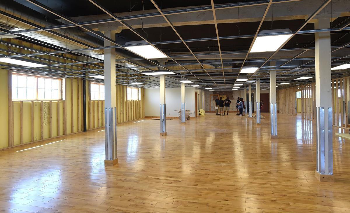 Vincent crane building interior