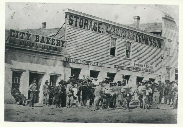 Kiskadden's store in Virginia City
