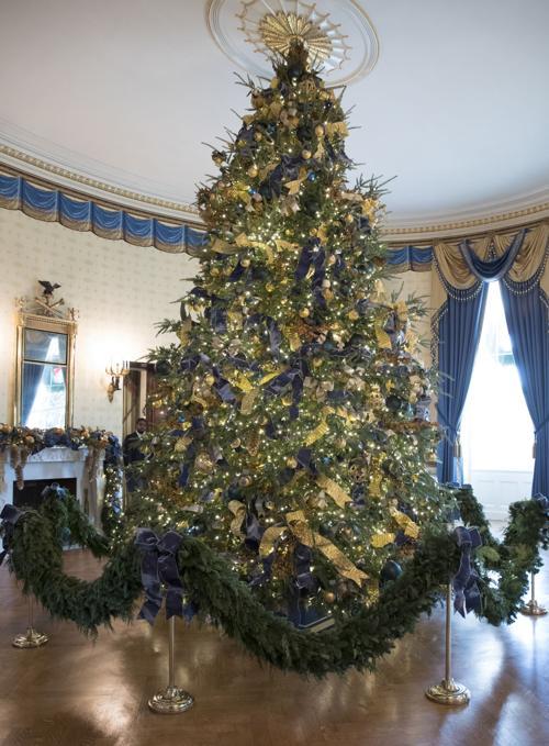Trump White House Christmas.Trump White House Christmas Billingsgazette Com