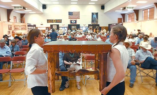 'Heavy hitters' buy at Old West Auction in Cody