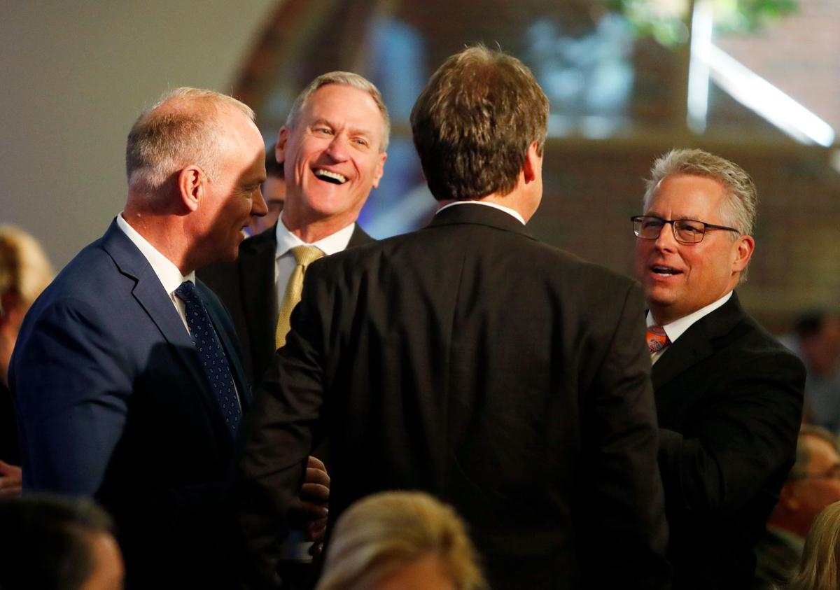 Montana Governor Steve Bullock and Wyoming Governor Matt Mead and South Dakota Governor Dennis Daugaard