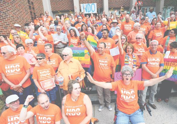 Protesters rally for NDO