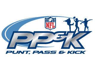 Punt pass and kick logo