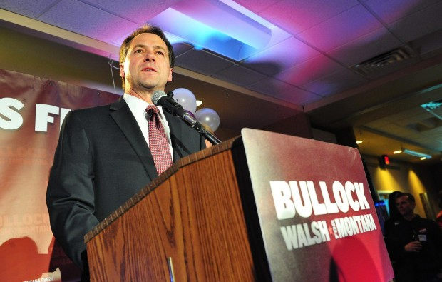 Governor candidate Steve Bullock