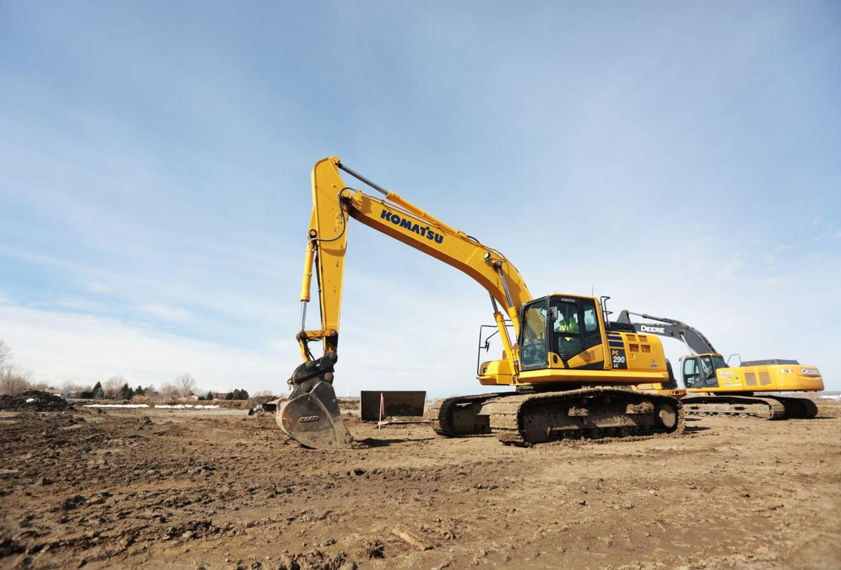 New home construction in Billings
