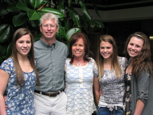Brittany Kumm and family