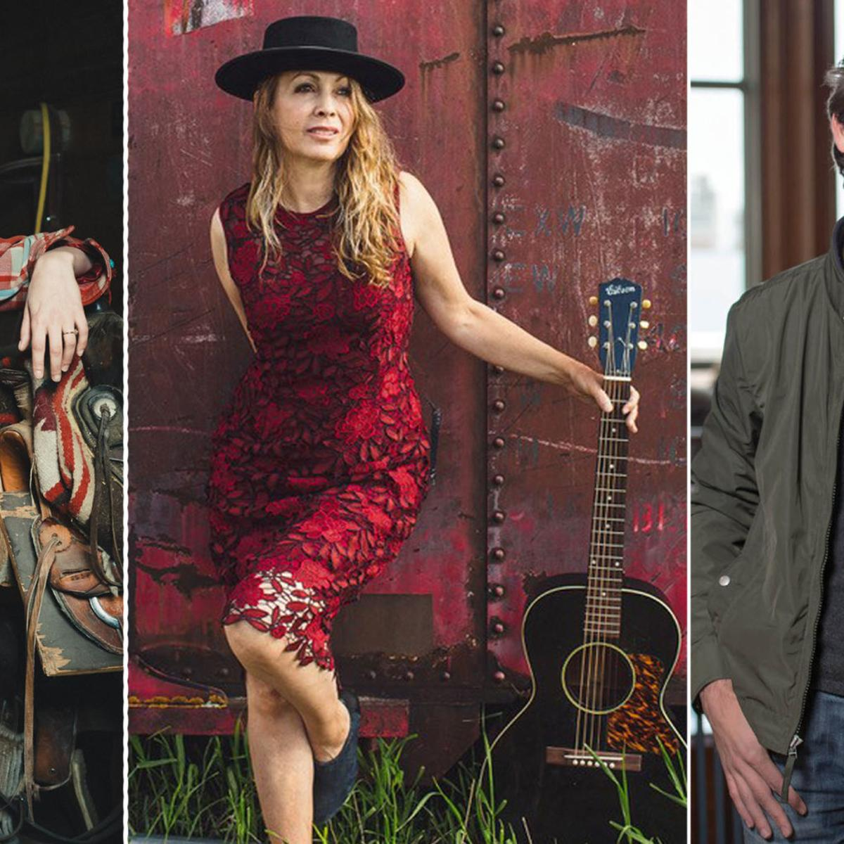 Songwriters Jessie Bridges, Audrey Hall and Sean Douglas