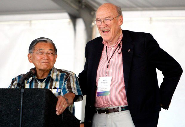 Alan Simpson and Norman Mineta
