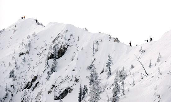 New chair lift accesses backcountry-like terrain