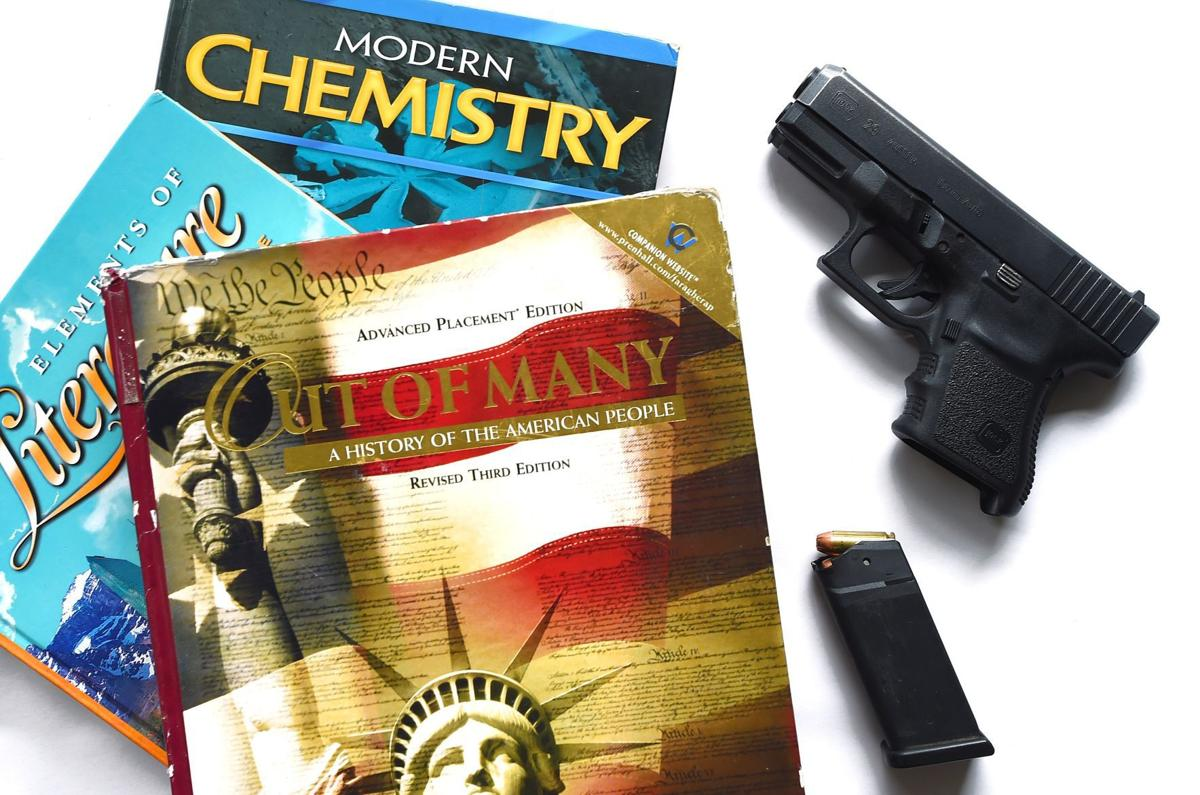 Books and Glock 2