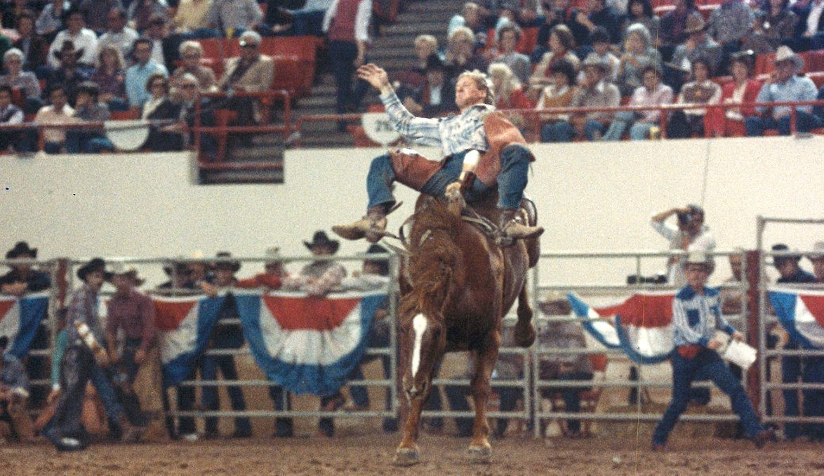 Larry Peabody, 1984 National Finals Rodeo