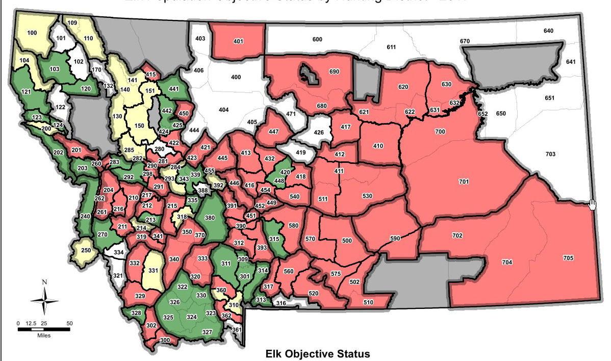 Population objectives