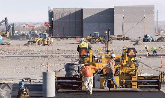 Despite slowing economy, construction at Shiloh Crossing charges ahead