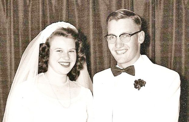 Beverly and John Bermes in 1954