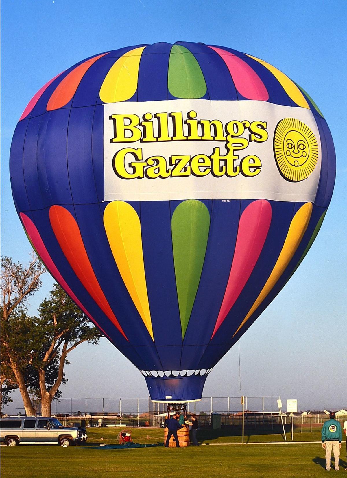Gazette balloon