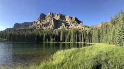 Ramshorn Lake, Fortress Mountain