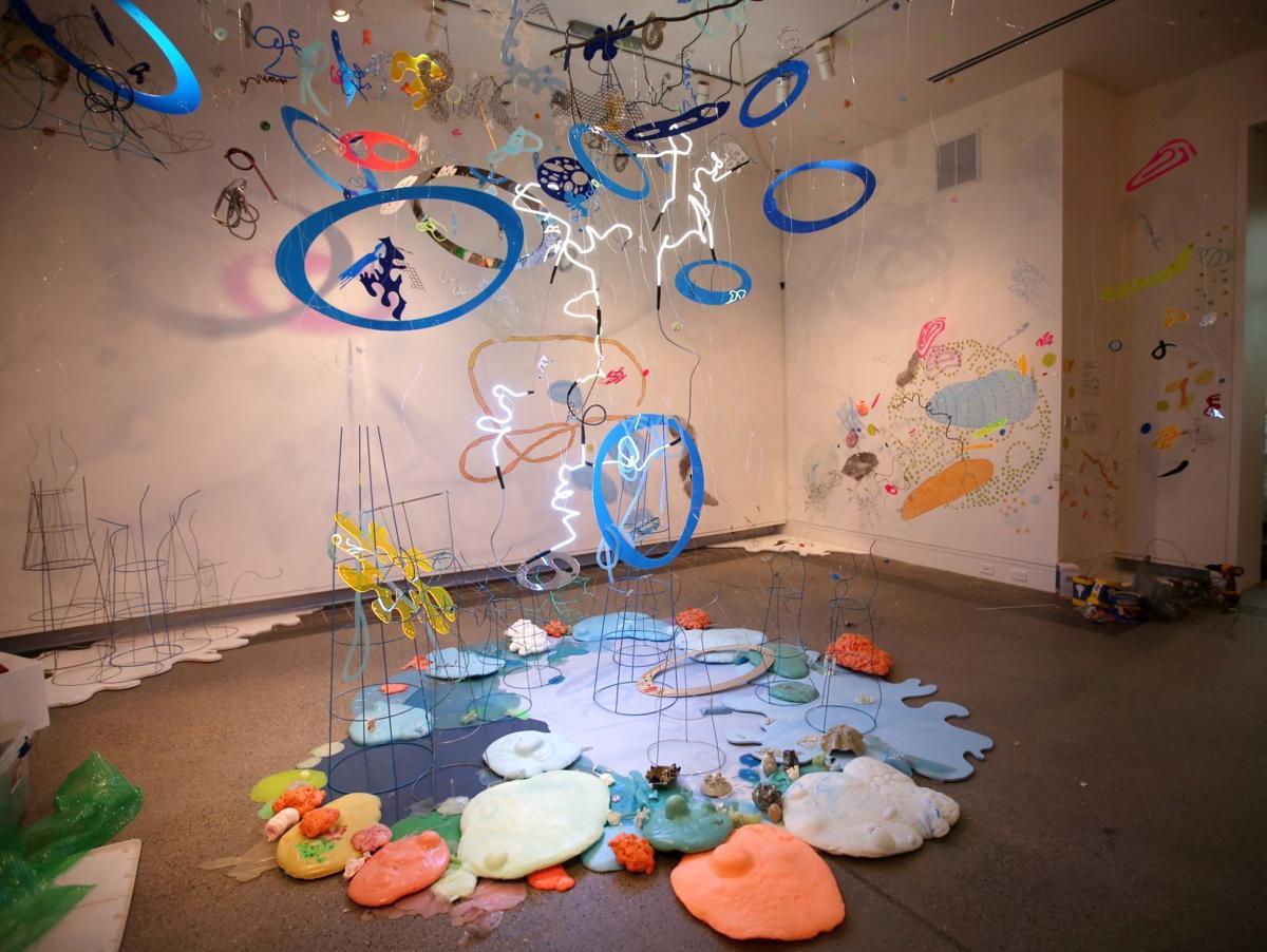 Rosane Volchan O'Conor art installation