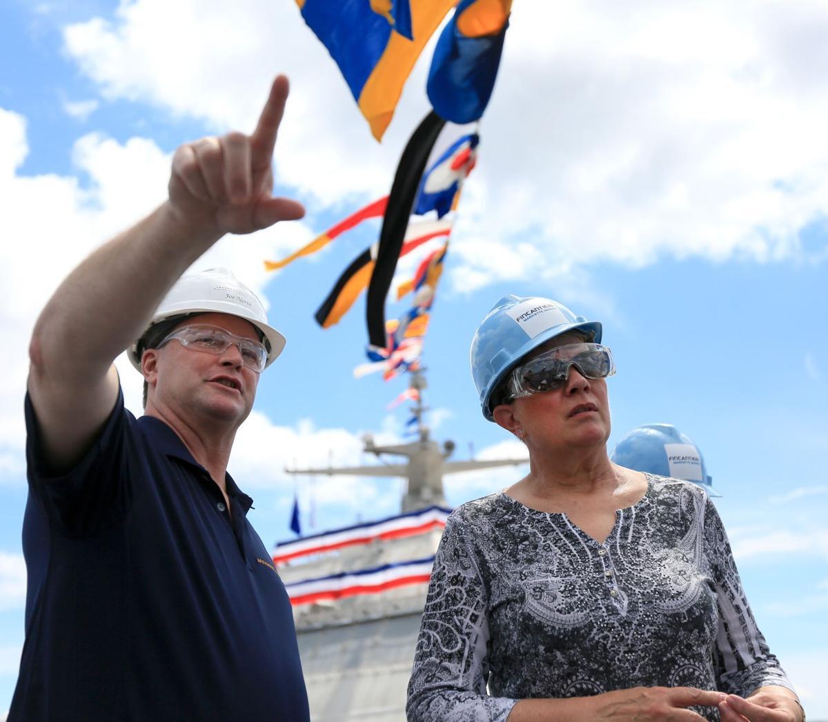 USS Billings tour