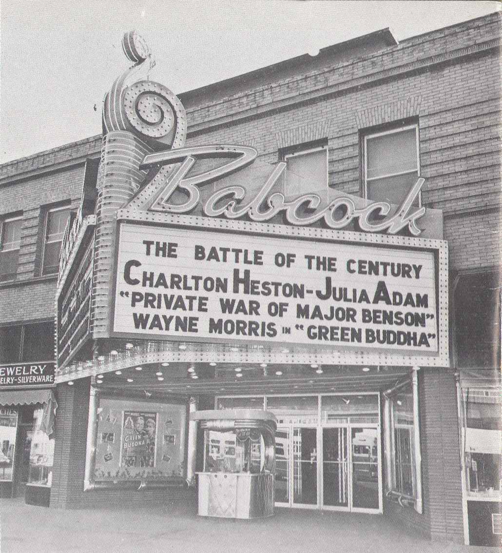1955 Babcock Theatre remodel