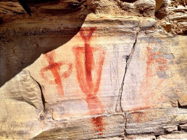 Pictographs, petroglyphs