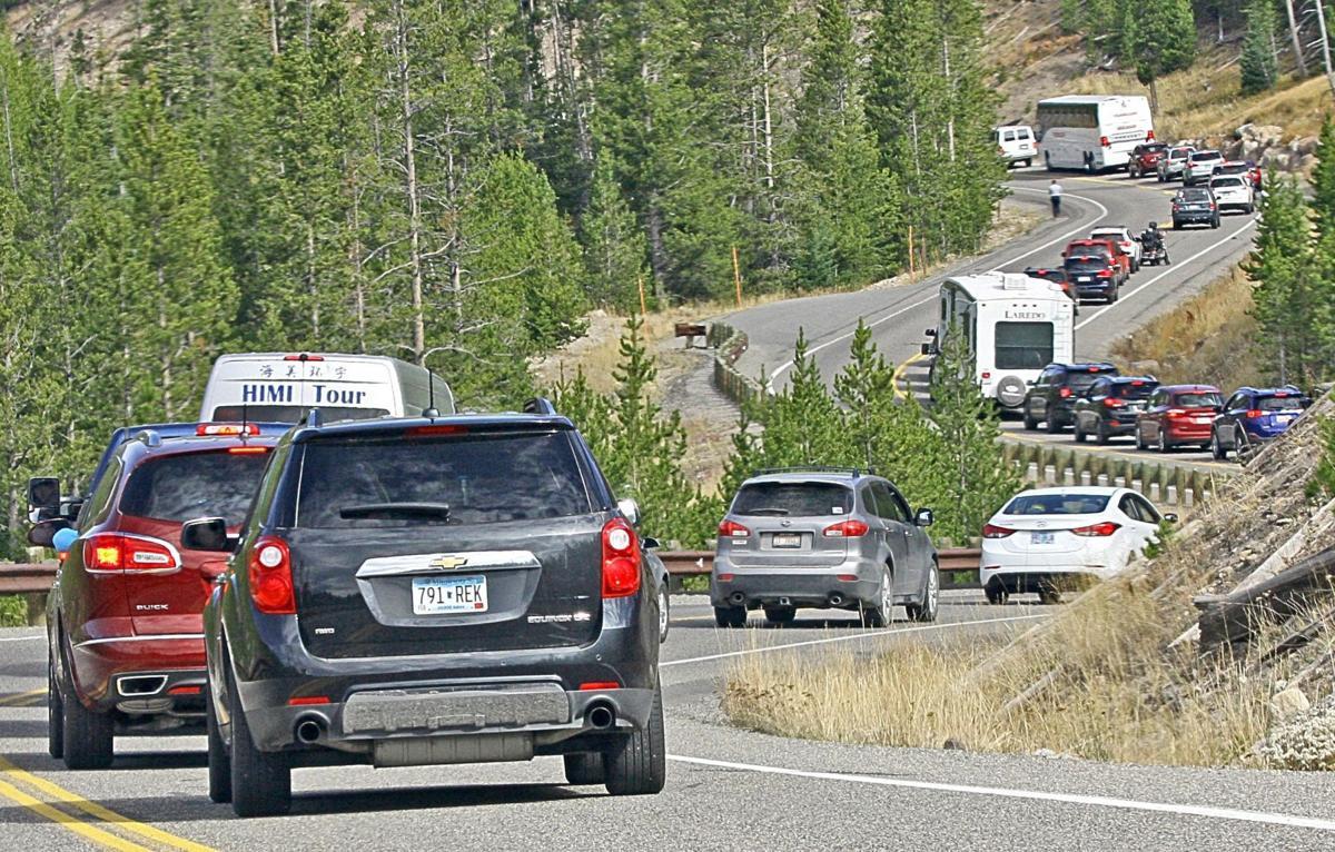 Yellowstone visits