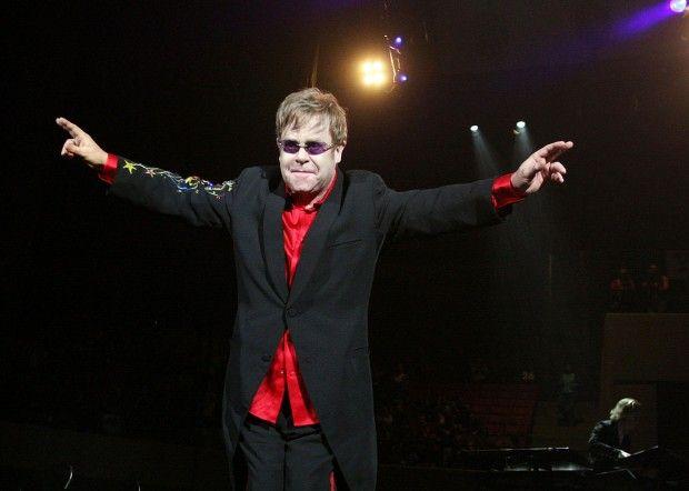 Elton John at Rimrock Auto Area at MetraPark