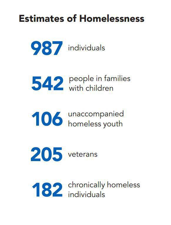 Montana's estimates of homelessness