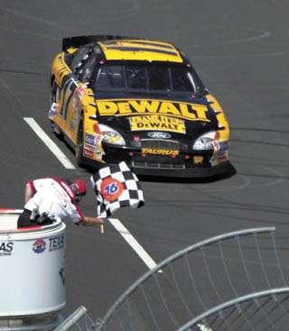 NASCAR SAMSUNG RADIO SHACK 500