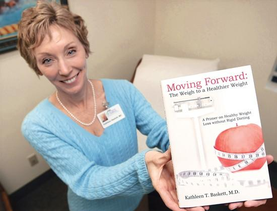 Local doctor publishes new book about healthy weight