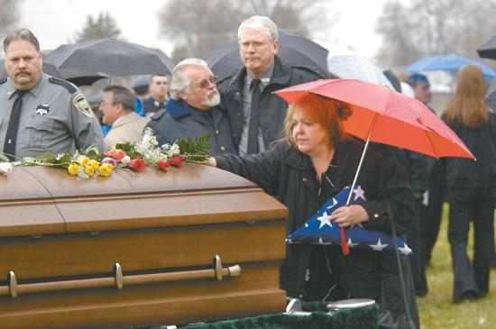 Deputy remembered as loyal by hundreds of comrades