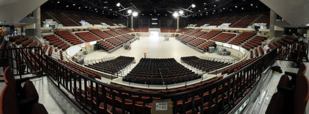 10 months later, a new arena ready to shine