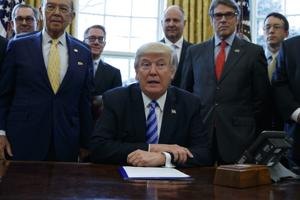 Lawsuit claims Trump ignored tribes' rights in approving Keystone XL pipeline