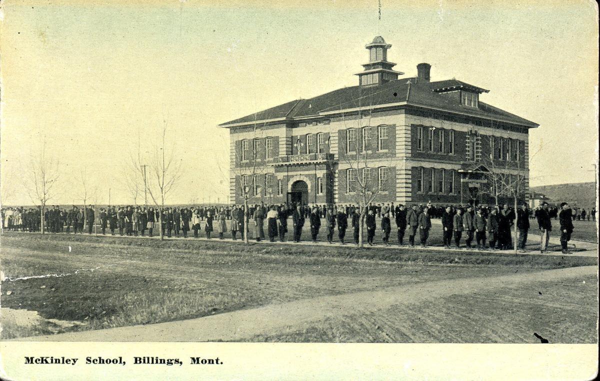 McKinley School in 1910