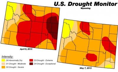 Wyoming drought