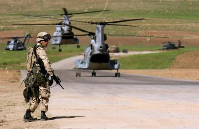 Bashur airfield Iraq