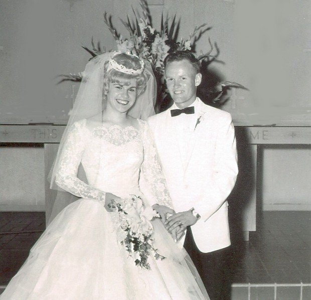 Judy and LaVerne Kilfoy in 1962